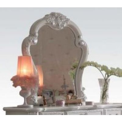 Dresden Ginny's Mirror in Antique White - 30669