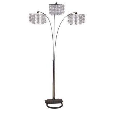 Veta Floor Lamp in Chrome - 40052