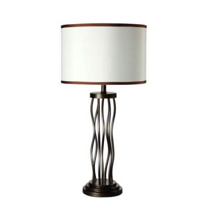 Jared Table Lamp (Set of 2) in Bronze - 40070