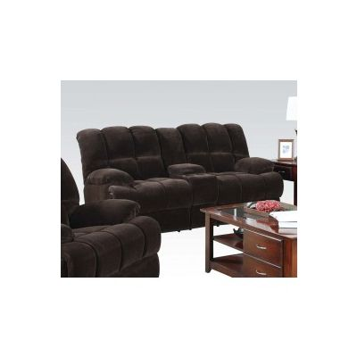 Ahearn Motion Loveseat with Console - 50476