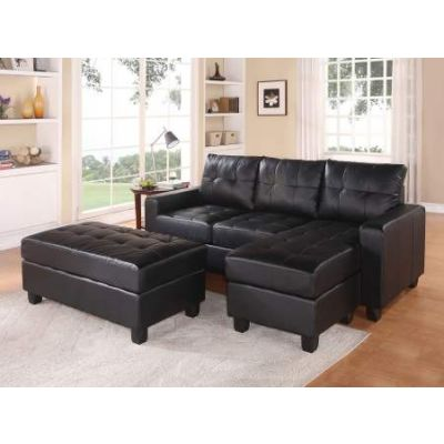 Sectional Sofa (Reversible Chaise) with Ottoman - 51215