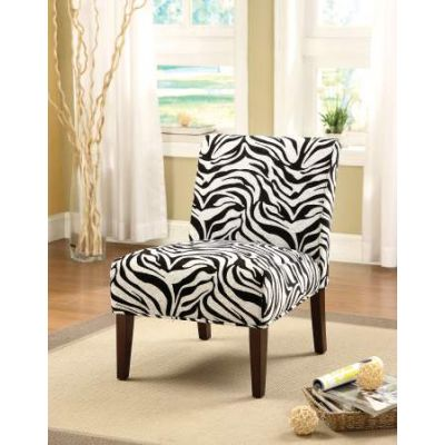 Aberly Accent Chair in Fabric & Espresso - 59152