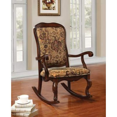 Sharan Rocking Chair in Cherry - 59390