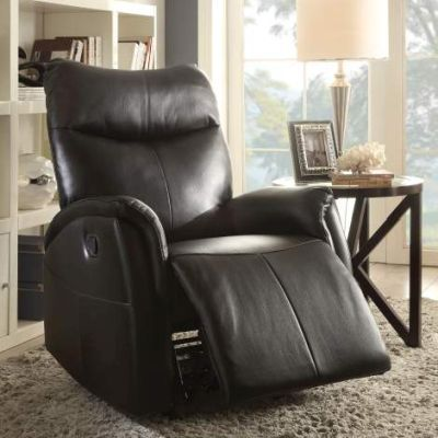 Riso Motion Rocker Recliner with Black Finish - 59435