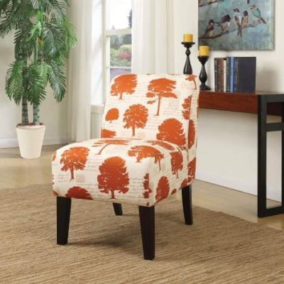 Ollano Accent Chair with Tree Fabric Finish - 59505