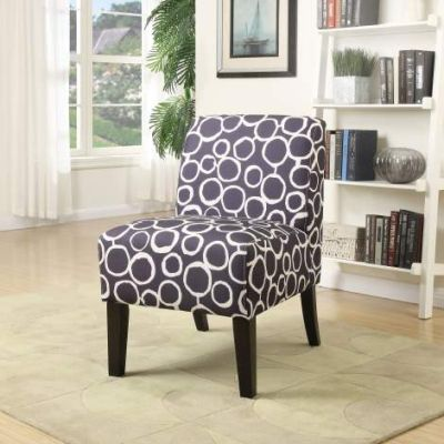 Ollano Accent Chair with Pattern Fabric Finish - 59507
