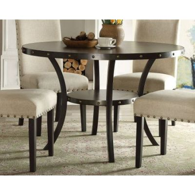 Hadas Dining Table Round in Oak - 72055