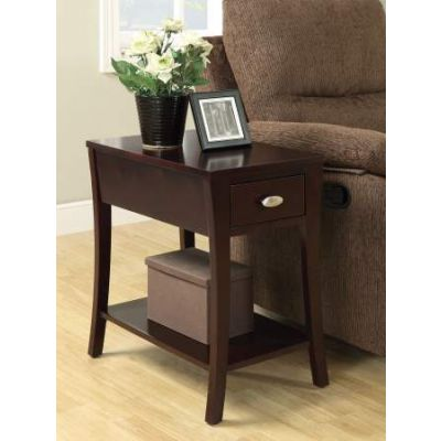 Mansa Side Table in Espresso - 80295