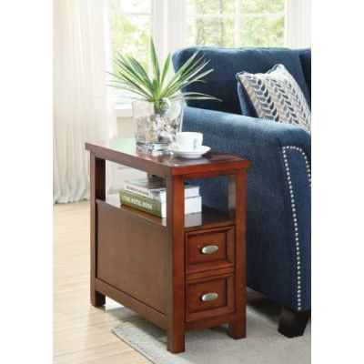Perrie Side Table in Cherry - 80921