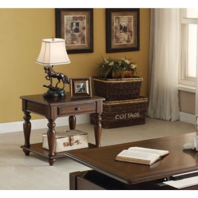 Farrel End Table in Walnut - 82746