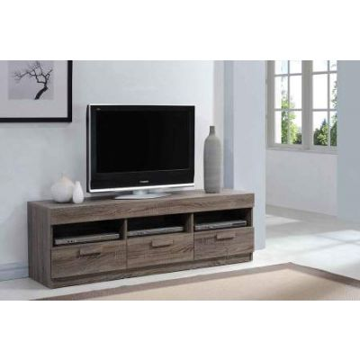 Alvin TV Stand in Rustic Oak - 91167