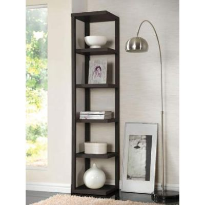 Mileta Bookcase in Cappuccino - 92090
