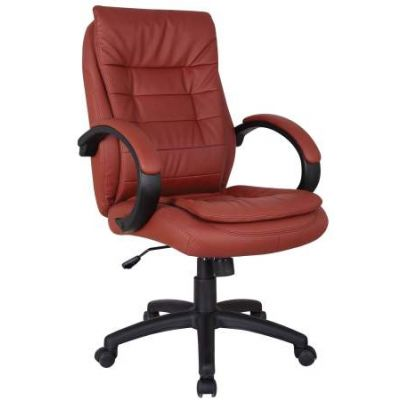 Jaye Office Chair with Pneumatic Lift in Red - 92176