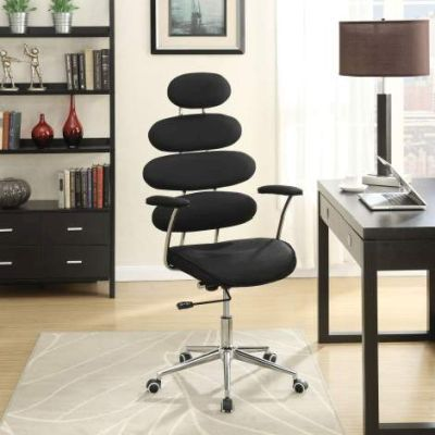 Noma Office Chair with Black Mesh Finish - 92307