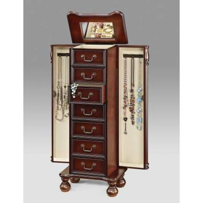 Lopez Jewelry Armoire in Oak - 97006