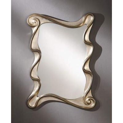 Arla Accent Mirror with Champagne Silver Finish - 97094