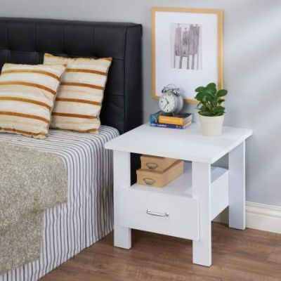 Delano Nightstand with White Finish - 97268