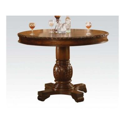 Chateau De Ville Counter Height Table in Cherry - 000744_kit