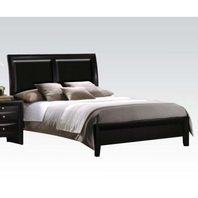 Ireland California King Bed in Black - 000662_kit