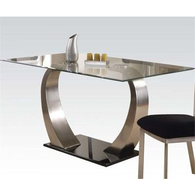 Camille Dining Table in Satin Plated - 000760_kit