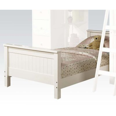 Willoughby Twin Bed in White - 000763_kit