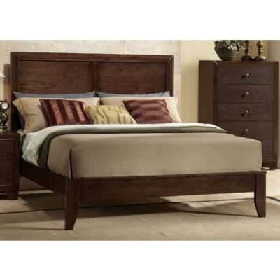 Madison Queen Bed in Espresso - 000806_kit