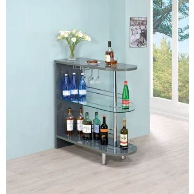 Contemporary Grey Bar Table - 101073
