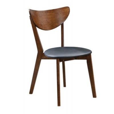 Malone Modern Dining Side Chair in Black - 105362