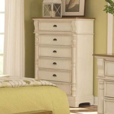 Oleta Chest with 6 Drawers and Pilaster Detail - 202885