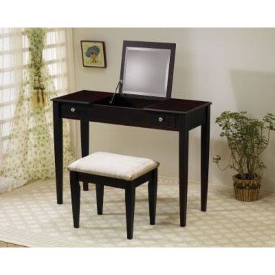 Vanity Set in Natural Cappuccino Finish - 300080