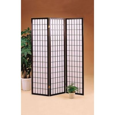 Three Panel Folding Floor Screen - 4622