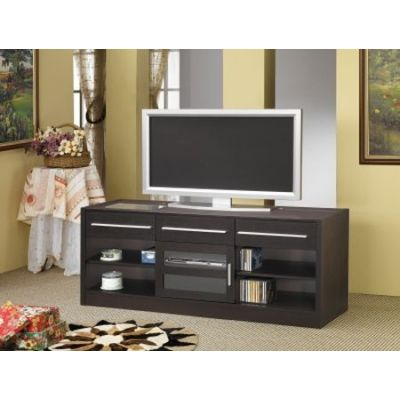 Cappuccino TV Console with CONNECT-IT Power - 700650