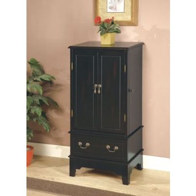 Black Jewelry Armoire - 900095