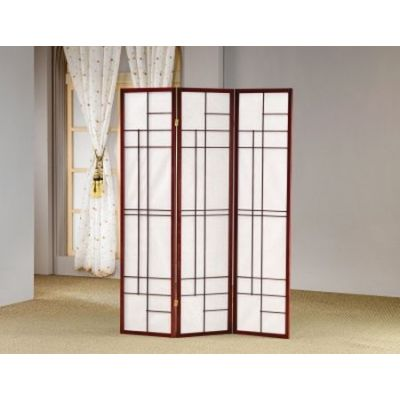 Three Panel Folding Floor Screen - 900110