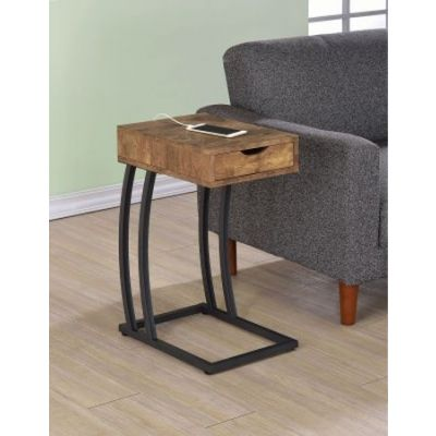 Antique Nutmeg Accent Table - 900577