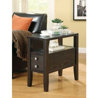 Casual Storage Chairside Table - 900991