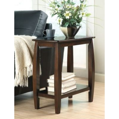 Walnut Chairside Table - 900994