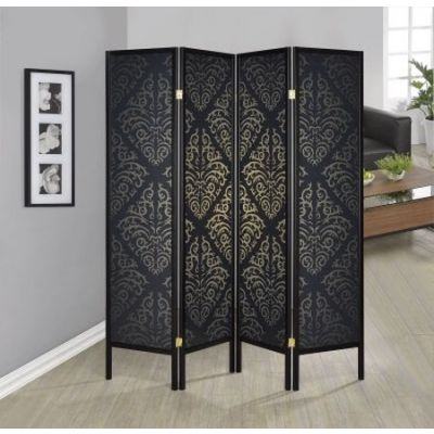 Black Folding Screen - 901632