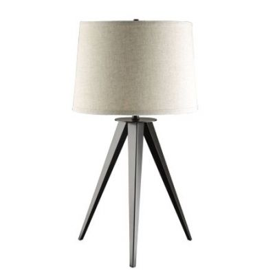 Leg Base Table Lamp in Gray and Black - 901644