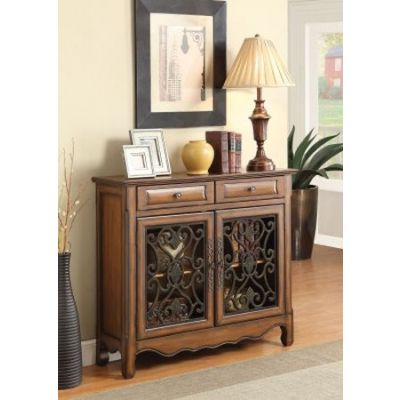 Coaster 2 Drawer Accent Chest in Brown - 950358