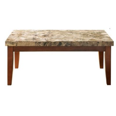 Montibello Brown Coffee Table in Marble Top - MN700C