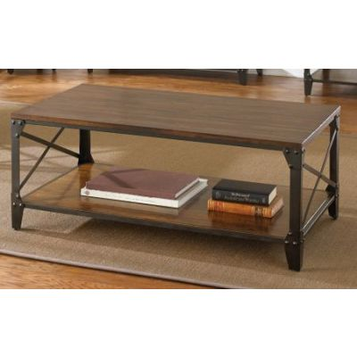Winston Cocktail Table in Distressed Tobacco - WN400C