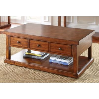 Zappa Coffee Table in Medium Cherry - ZP200C