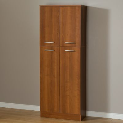 Axess 4-Door Storage Pantry Morgan Cherry - 10102