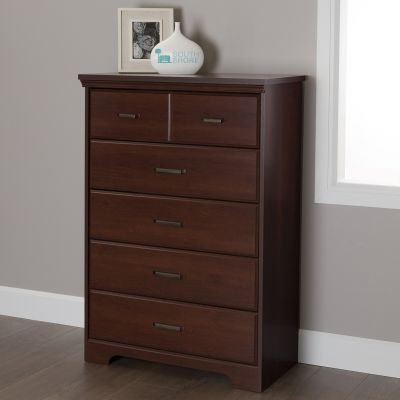 Versa 5-Drawer Chest Royal Cherry - 10124