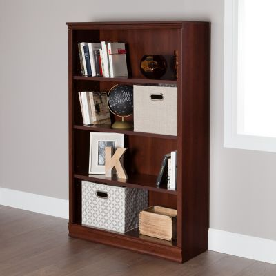 Morgan 4-Shelf Bookcase Royal Cherry - 10149