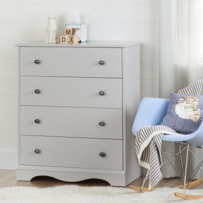 Angel 4-Drawer Ginny's Chest Soft Gray - 10229