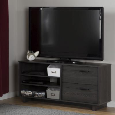 Fynn TV Stand with Drawers for TVs up to 55'' Gray Oak - 10374