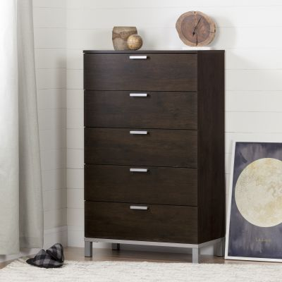 Flexible 5-Drawer Chest Brown Oak - 10517