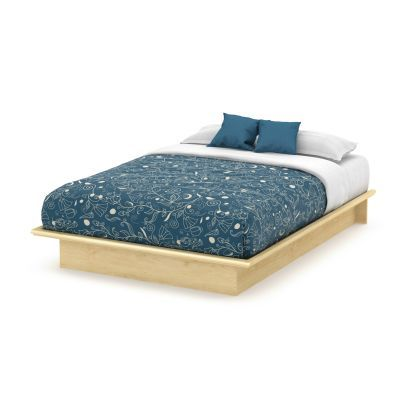 Step One Queen Platform Bed (60'') Natural Maple - 3013233